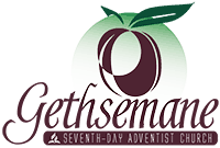Gethsemane Seventh-day Adventist Church | Raleigh, North Carolina Sticky Logo