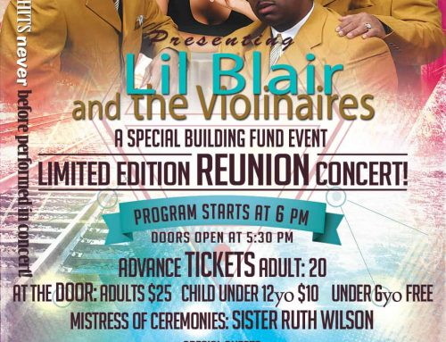 Lil Blair and the Violinaires Limited Edition Reunion Concert