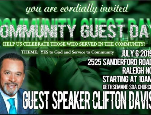 Pastor Clifton Davis to Speak for Community Service Day