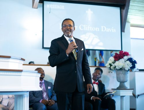 Community Service Day with Clifton Davis